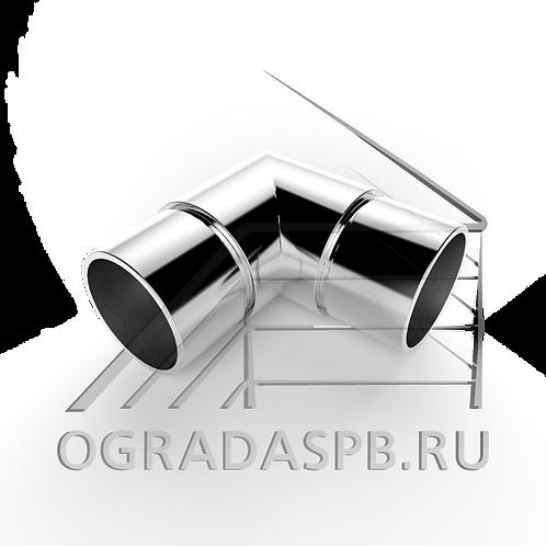 Отвод остроугольный, угол 90° для трубы Ø50,8*1,5 мм.  материал: AISI 304