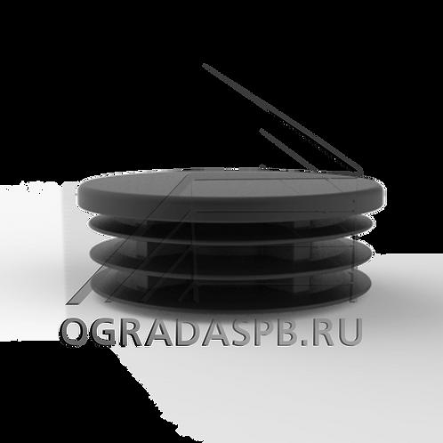 Заглушка забивная для трубы Ø42,4*1,5 мм. материал: пластик