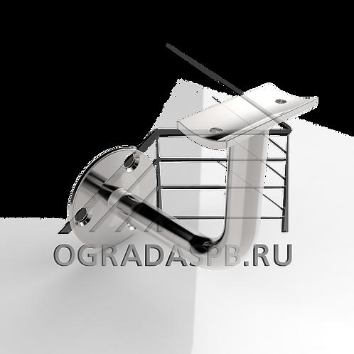 Крепление для пристенного поручня Ø42,4, Ø фланца 70 мм
