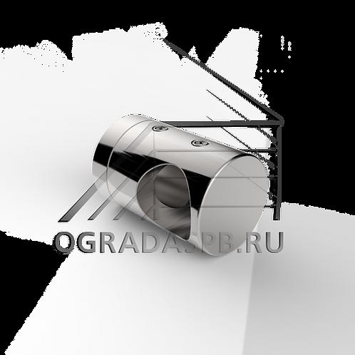 Крепление ригеля Ø16 мм. плоск.