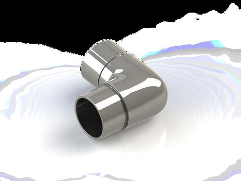Отвод скругленный,  угол 90° для трубы Ø42,4*1,5 мм
