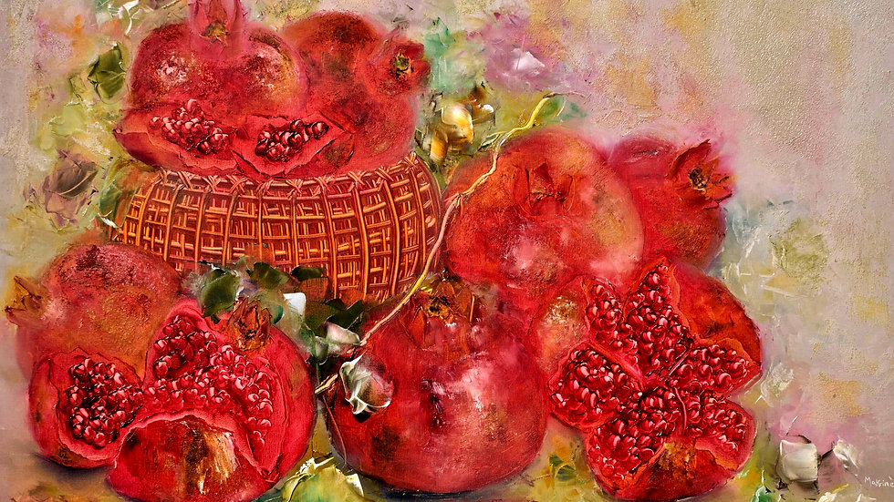 The Pomegranates/Oil Painting