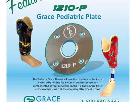 FEATURING Grace 1210-P Pediatric Plate