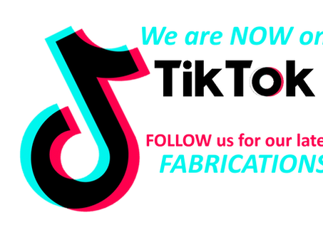 CHECK OUT our latest Fabrications on TikTok