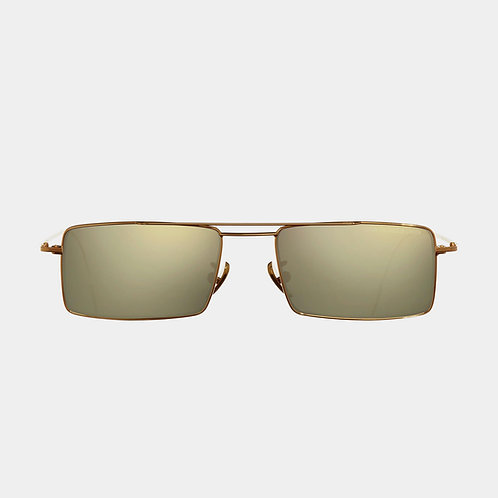 Cutler & Gross Sunglasses 1308GPL-01 Gold & Super Ivory Precious Metal collection luxury eyewear shop online Karybu