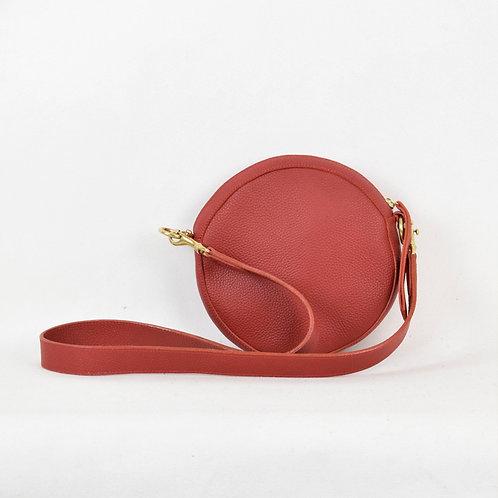 Mini Full Moon Leather Bag Red Bush Princess Luxury Ethical Fashion Karybu concept store shop online