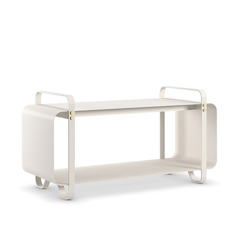 Eldvarm Bench Ninne - Cream White luxury interior Karybu shop online