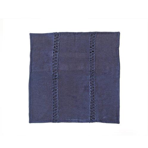 Indigo Cushion Cover 40x40 cm Luxury Interior furniture Tinos karybu shop online