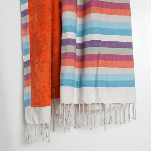 Handwoven Beach Towel Multicolour