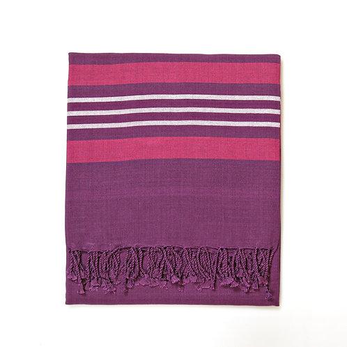 Handwoven Pareo Purple