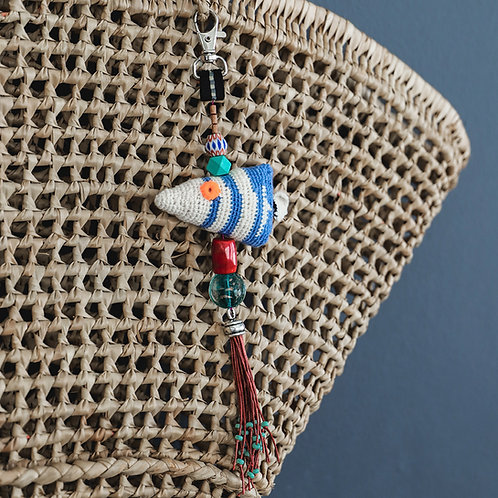 Crochet Fish Ornament