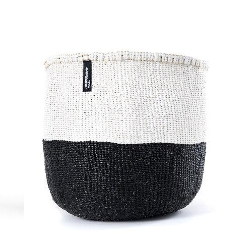 50/50 Basket Kiondo Medium Black Luxury interior accessories natural Karybu concept store shop online