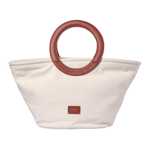 Zeus + Dione Scorpio Large Canvas Bag - Tabaco luxury fashion spring summer resort collection 21 shop online
