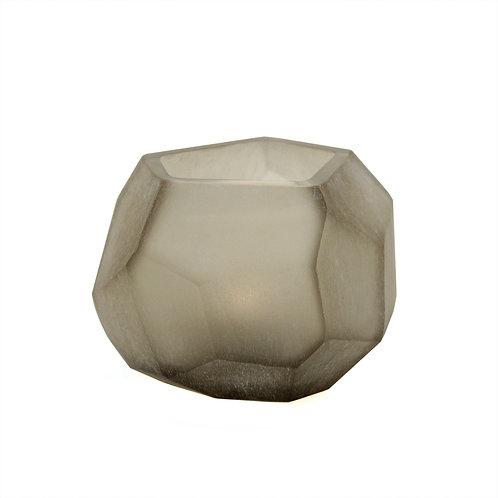 Guaxs Cubistic Tealight Smokegrey luxury interior furniture Tinos shop online karybu