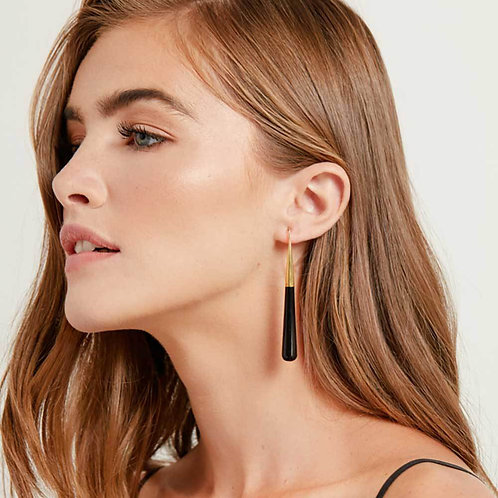 Soko jewellery Horn Pia Threader Earrings karybu luxury fashion shop online