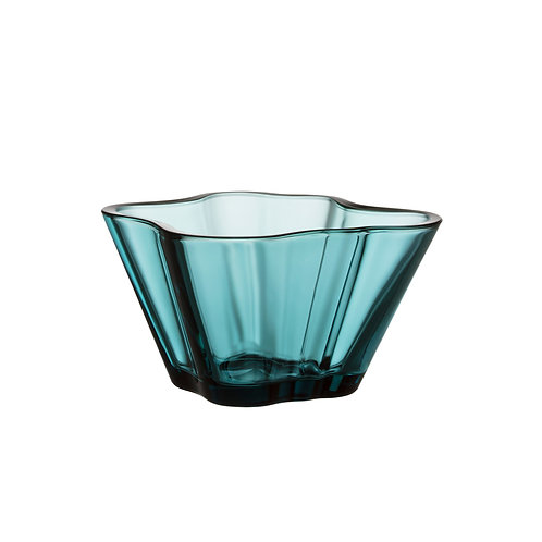 Iittala Alvar Aalto Collection Bowl 75 mm Sea Blue luxury interior home karybu concept store