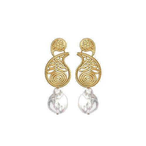 Zeus + Dione Milioni Small Earrings  luxury fashion spring summer resort collection 21 shop online