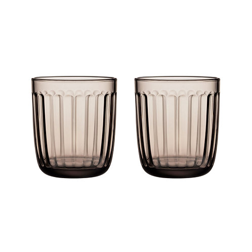 Iittala Raami Tumbler 26cl 2pcs Linen karybu interior luxury furniture tinos shop online