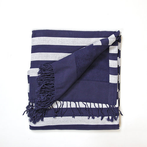 Handwoven Beach Towel Blue