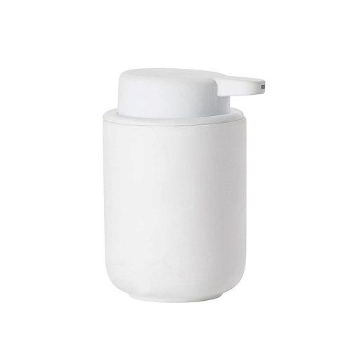 Zone Ume Soap Dispenser, White bath accessories luxury interior furniture tinos karybu shop online