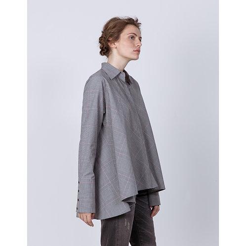 Hana San Shirt Naka Carbone luxury high end fashion karybu shop online