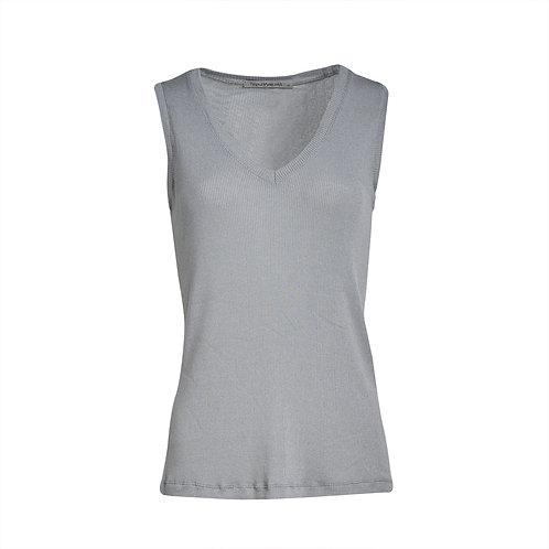 Transit Cotton Tank Top - Light Grey women luxury fashion spring summer 20 shop online Karybu