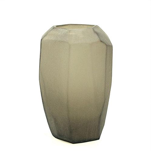 Guaxs Vase Cubistic Tall Smokegrey luxury interior furniture Tinos shop online karybu