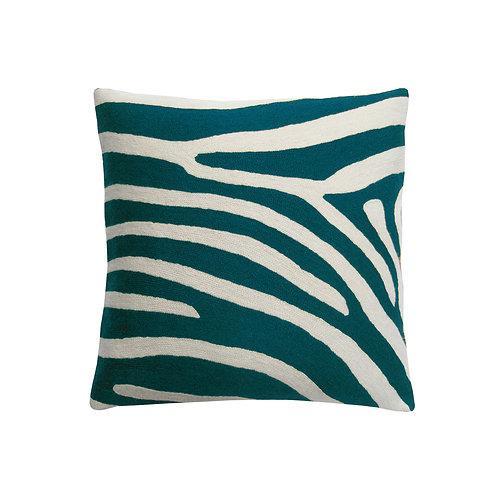 Akim Dark Green Embroidered Cushion