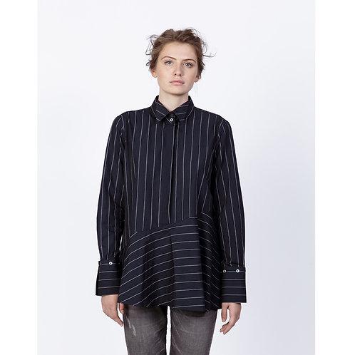 Hana San Shirt Gago Night Blue luxury high end fashion karybu shop online