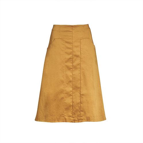 Transit A-Style Mid Skirt - Turmeric women luxury fashion spring summer 20 shop online Karybu