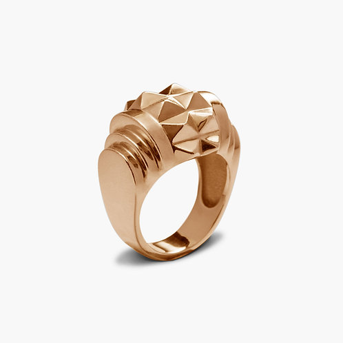 Sophistiquee Ring No2 Silver Rosegold-plated