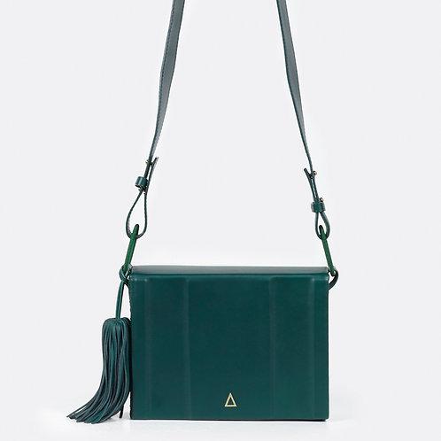 Zeus + Dione Attiki Large Leather Bag Green luxury fashion spring summer 20 shop online Karybu