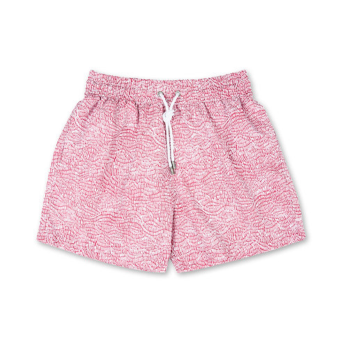 Ecailles Pink Swim Shorts Apnée luxury swimwear men karybu shop online