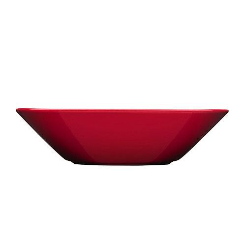 Iittala Teema deep plate 21cm Red Karybu Buy Online