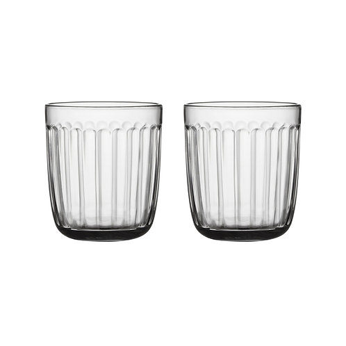 Raami Tumbler 26 cl 2 pcs Clear iittala interior luxury furniture tinos shop online
