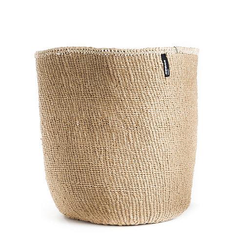 Mifuko One Colour Basket Kiondo Large Natural Luxury interior accessories natural Karybu concept store shop online