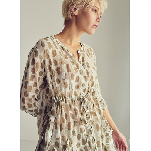 Transit Long Shirt Tunic - Rope Print women luxury fashion spring summer 20 shop online Karybu