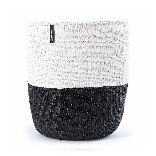50/50 Basket Kiondo Large Black Luxury interior accessories natural Karybu concept store shop online