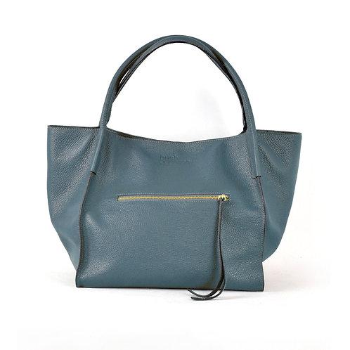 XL Shopper Leather Bag Teal bush princess shop online karybu