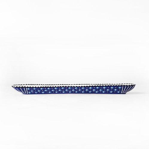 Olive Boat Blue