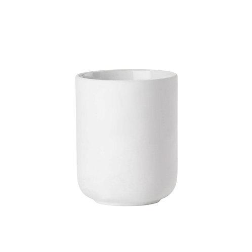 Zone Ume Toothbrush Mug, White bath accessories luxury interior furniture tinos karybu shop online