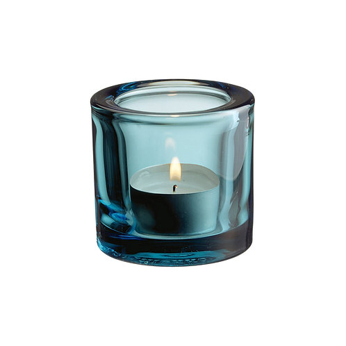 Iittala Kivi Votive Candleholder 60 mm Sea Blue Karybu Buy Online