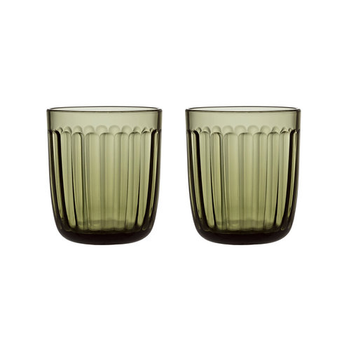 Raami Tumbler 26 cl 2 pcs Moss Green iittala interior luxury furniture tinos shop online