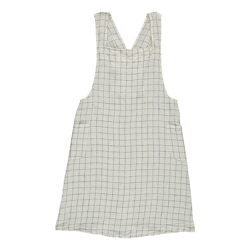 Japanese Apron Navy & White XL Checks