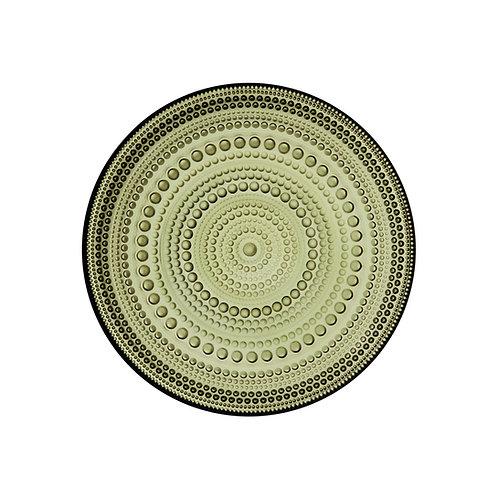 Iittala Kastehelmi plate 170mm Moss Green Karybu Shop Online