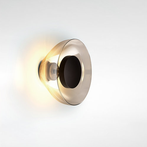 Marset - Aura Wall Lamp Smoked Lighting design luxury interior Karybu shop online