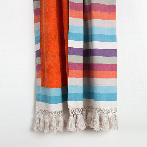 Handwoven Pool Towel Multicolour