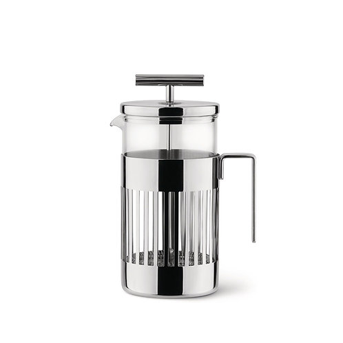Alessi Press Filter Coffee Maker or Infuser 8 cups luxury home interior karybu shop online