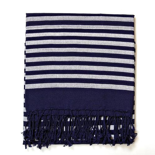 Handwoven Pareo Blue