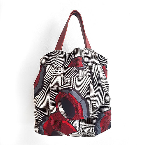 KitengeBag 2020 - Geometric Red shop online luxury fashion karybu